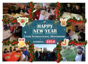 Lycée International Montessori Happy New Year Best Wishes